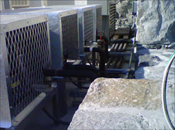 Commercial air conditioning unit in East Providence, RI